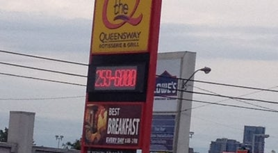 Photo of BBQ Joint The Q (Queensway Rotisserie & Grill) at 1633 The Queensway, Etobicoke, ON M8Z 1T8, Canada