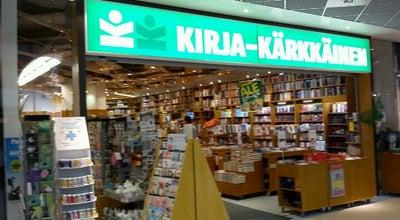 Photo of Bookstore Kirja-Kärkkäinen at Hatanpään Valtatie 1, Tampere 33100, Finland