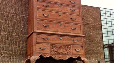 Photo of Outdoor Sculpture World's Largest Highboy Chest at 5635 Riverdale Dr, Jamestown, NC 27282, United States