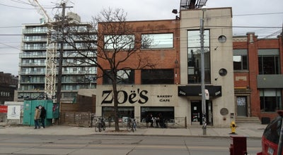Photo of Cafe Zoe's Bakery Cafe at 548 King St W, Toronto, ON M5V 1M3, Canada