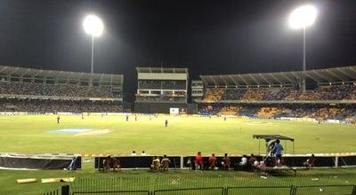 Photo of Cricket Ground R. Premadasa (Khettarama) International Cricket Stadium at Maligawatte, Colombo 01000, Sri Lanka