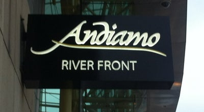Photo of Italian Restaurant Andiamo Detroit Riverfront at 400 Renaissance Ctr, Detroit, MI 48243, United States