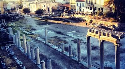 Photo of Historic Site Ρωμαϊκή Αγορά (Roman Agora) at Πελοπίδα, Αθήνα 105 55, Greece