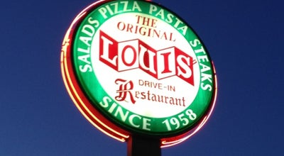 Photo of Italian Restaurant Louis' Original Drive-In at 4661 Old Broadway St, Knoxville, TN 37918, United States