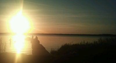 Photo of Lake Baltezers / publiska pludmale at Latvia