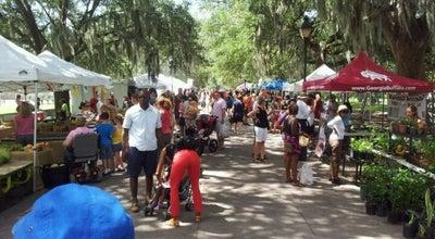 Photo of Farmers Market Forsyth Farmers Market at 2418 De Soto Ave, Savannah, GA 31401, United States
