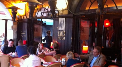 Photo of Cafe Café Hugo at 22 Place Des Vosges, Paris 75004, France