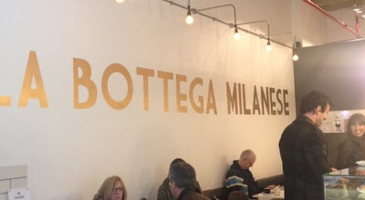 Photo of Coffee Shop La Bottega Milanese at The Light, Leeds LS1 8TL, United Kingdom