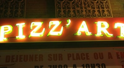 Photo of Pizza Place Pizz' Art at 116 Rue Du Faubourg Bonnefoy, Toulouse 31500, France