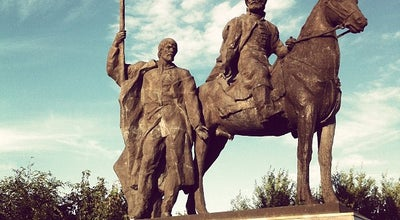 Photo of Monument / Landmark Памятник Богдану Хитрово at Бул. Новый Венец, Ulyanovsk, Russia