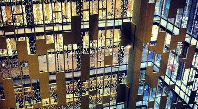 Photo of College Library NYU Bobst Library at 70 Washington Sq S, New York, NY 10012, United States