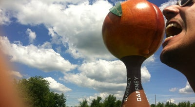 Photo of Monument / Landmark Peachoid, The Gaffney Peach at Peachoid Rd., Gaffney, SC 29341, United States