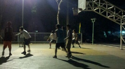 Photo of Basketball Court สนามบาส โรงเรียนมัธยมวิทยา at Thailand