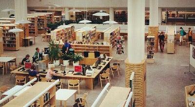 Photo of Library Jyväskylän kaupunginkirjasto (pääkirjasto) at Vapaudenkatu 41, Jyväskylä 40100, Finland