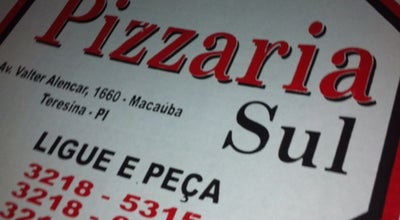 Photo of Pizza Place Pizzaria Sul at Av. Prof. Walter Alencar, Teresina 64016-080, Brazil