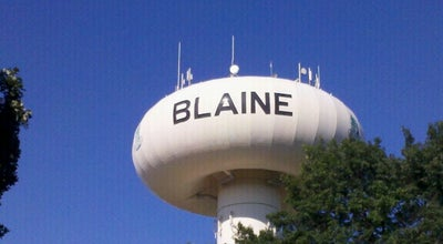 Photo of Monument / Landmark Blaine Water Tower at Minneapolis, MN 55434, United States