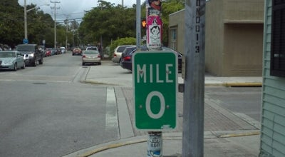 Photo of Monument / Landmark US-1 Mile Marker 0 at Whitehead St & Fleming St, Key West, FL 33040, United States