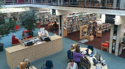 Photo of Library Oxford Central Library at 41 Castle Quarter, Oxford OX1 1AY, United Kingdom