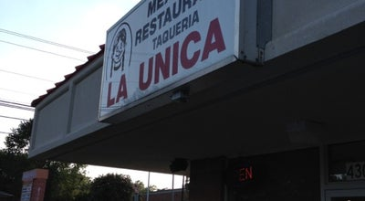 Photo of Mexican Restaurant La Unica at 4305 Old Monroe Rd, Indian Trail, NC 28079, United States