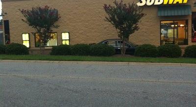 Photo of American Restaurant Subway @ Walmart at 1618 W Mcclain Ave, Scottsburg, IN 47170, United States