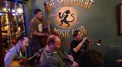 Photo of Jazz Club The Spotted Cat at 623 Frenchmen St, New Orleans, LA 70116, United States