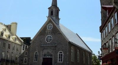 Photo of Church Église de Notre-Dame-des-Victoires at 32 Rue Sous-le-fort, Quebec, QC G1K, Canada
