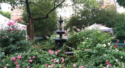 Photo of Park Van Vorst Park at 270 Barrow St, Jersey City, NJ 07302, United States