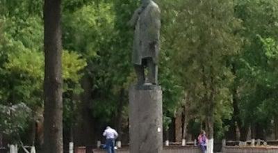 Photo of Monument / Landmark Памятник Н. Е. Жуковскому at Пл. Ленина, Жуковский 140180, Russia