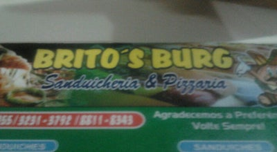 Photo of Sandwich Place Brito's Burg at R. Vicente Cozza, 82, João Pessoa 58075-420, Brazil
