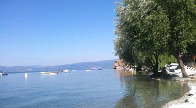 Photo of Beach Kaneo Beach at Ohrid 6000, Macedonia
