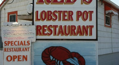 Photo of Seafood Restaurant Red's Lobster Pot Restaurant at 57 Inlet Dr, Point Pleasant Beach, NJ 08742, United States