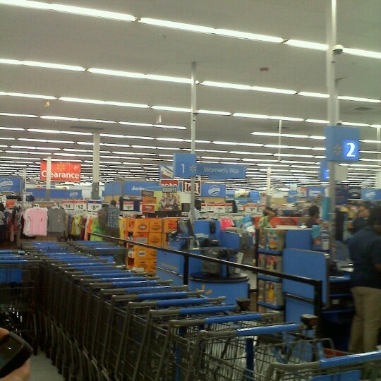 Photo taken at Walmart by John D. on 9/2/2012