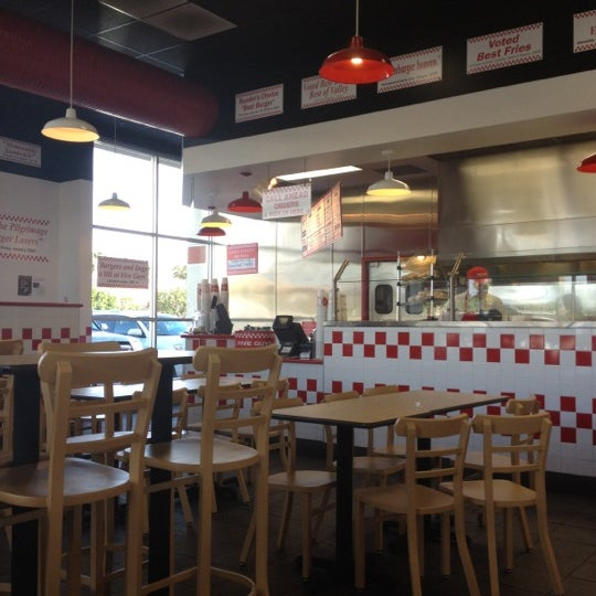 Photo taken at Five Guys by Gil C. on 2/13/2012