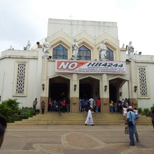 Photo taken at National Shrine of Our Lady of Peace and Good Voyage (Antipolo Cathedral) by Anthony A. on 7/15/2012