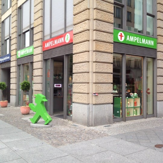 Photo taken at AMPELMANN Shop am Gendarmenmarkt by Takashi U. on 6/12/2012