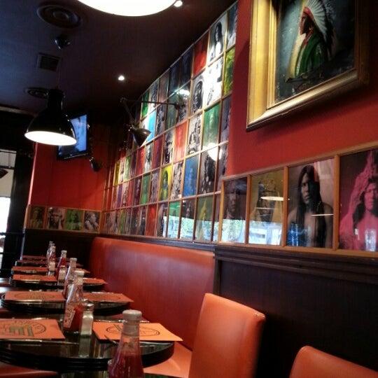 Photo taken at Indiana Café – République by Dan S. on 8/3/2012