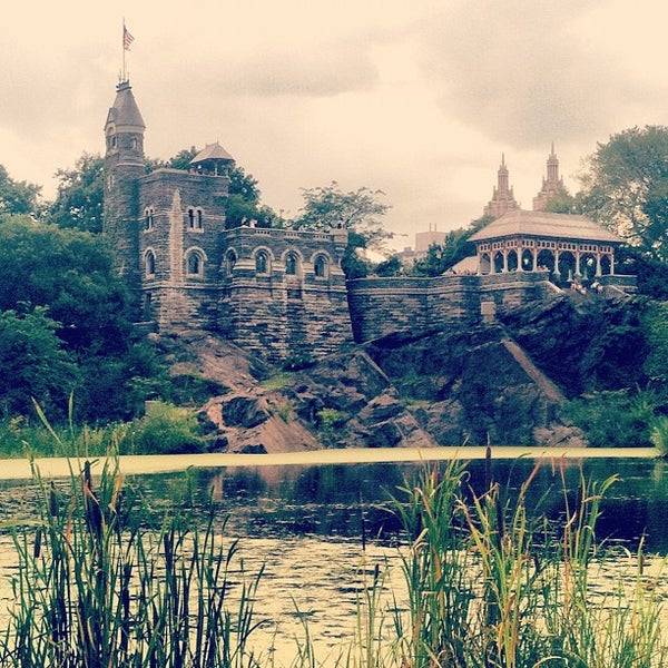 Photo taken at Belvedere Castle by Nick J. on 8/5/2012