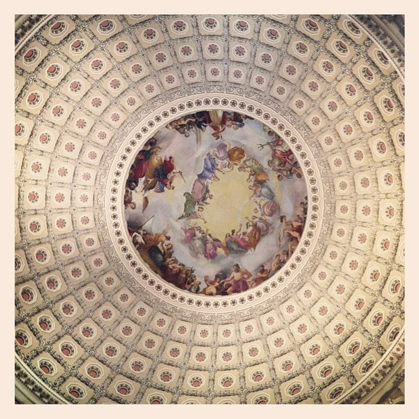Photo taken at Rotunda of the U.S. Capitol by lucia h. on 6/3/2012