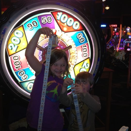 Photo taken at Dave & Buster's by Ryan D. on 4/5/2012