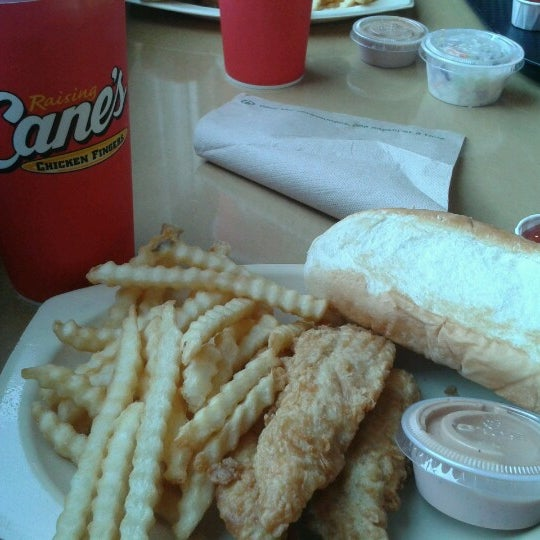Photo taken at Raising Cane's by Steve L. on 9/2/2012