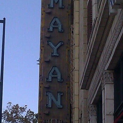 Photo taken at Mayan Theatre by pickles B. on 8/29/2012