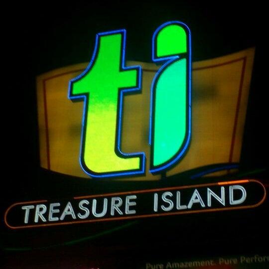 Photo taken at Treasure Island - TI Hotel & Casino by Anaira M. on 7/10/2012