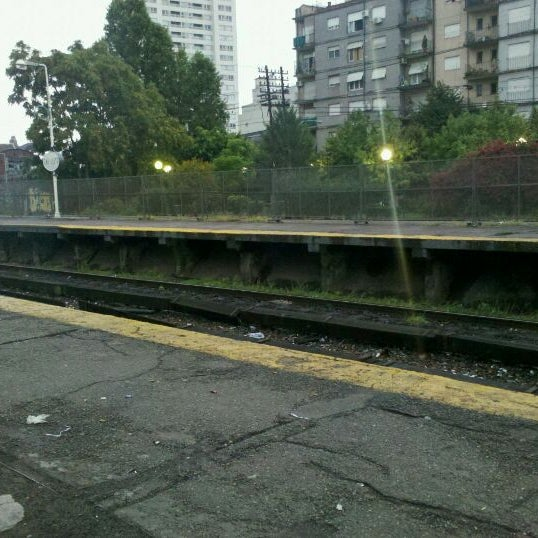 Photo taken at Estación Caballito [Línea Sarmiento] by Juan S. on 1/24/2012