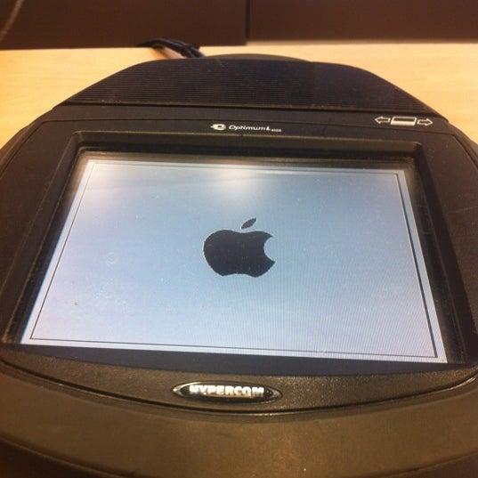 Photo taken at Apple University Park Village by Rick W. on 1/19/2012
