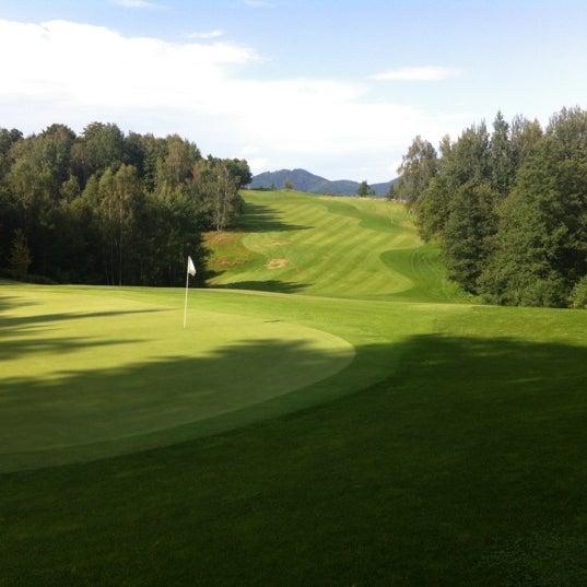 Photo taken at Ypsilon Golf Resort Liberec by Bara W. on 8/4/2012