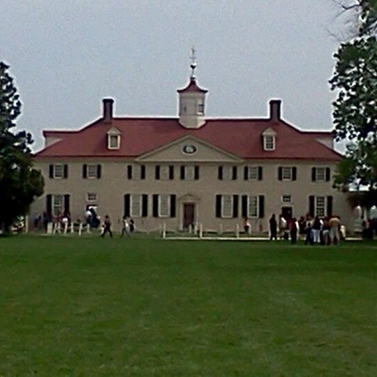 Photo taken at George Washington's Mount Vernon Estate, Museum & Gardens by Chad M. on 4/4/2012