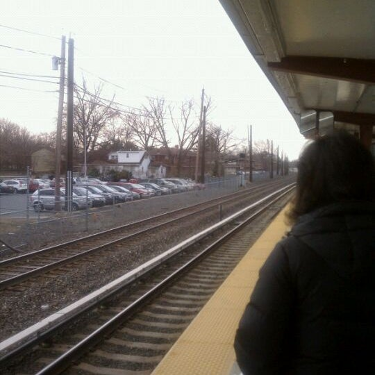 Photo taken at PATCO: Ashland Station by Christopher D. on 3/9/2011