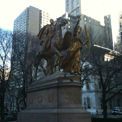 Photo taken at Grand Army Plaza by The Corcoran Group on 12/20/2010