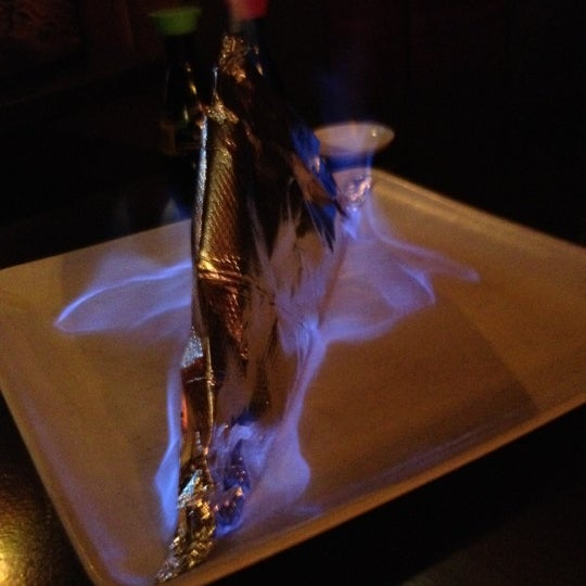 Photo taken at Sushi On The Rocks by Alexandria A. on 4/6/2012