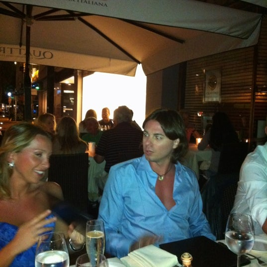 Photo taken at Quattro Gastronomia Italiana by Davide B. on 3/21/2012
